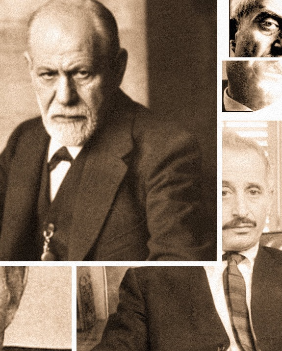 a picture of freud and greenson